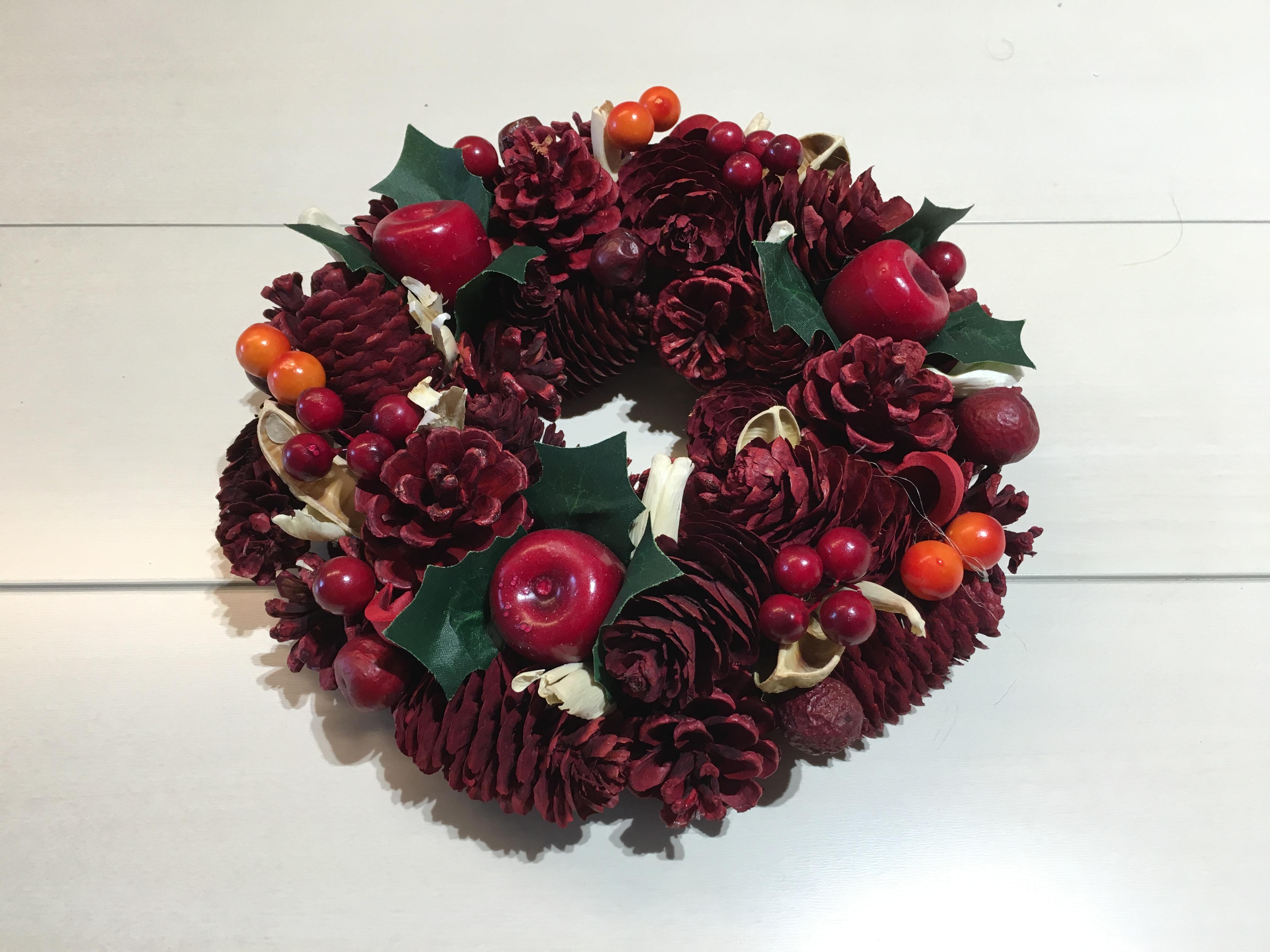 クリスマスリースのプレゼント
