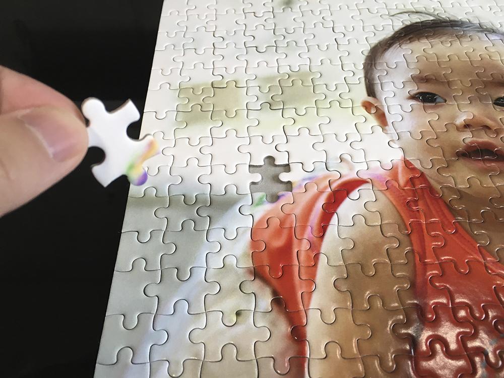 パズルピースで手作りオーナメント2