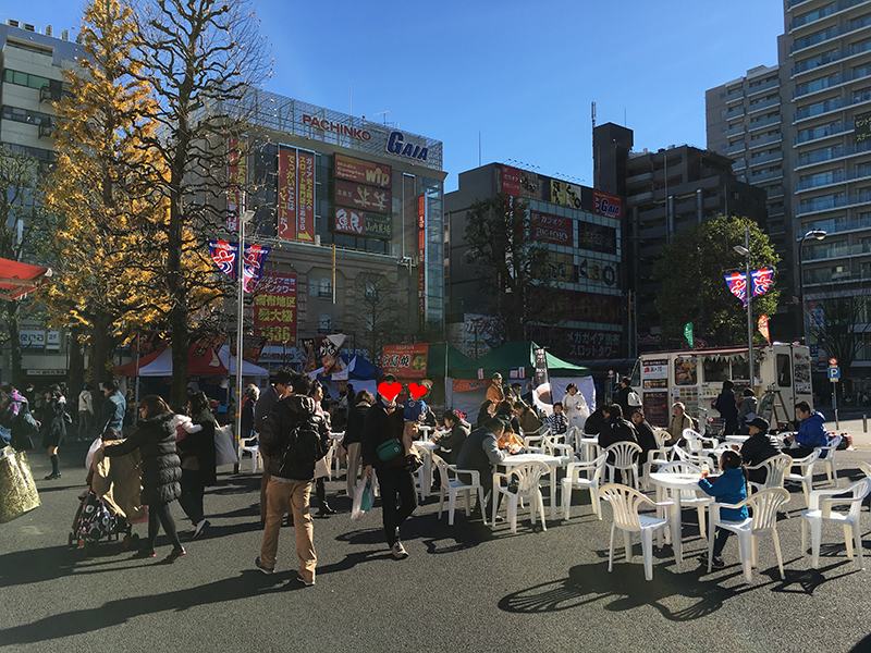 調布駅前ガーデンカフェ1