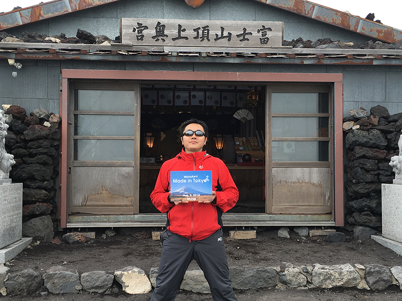 富士登山14_オリジナルジグソーパズル