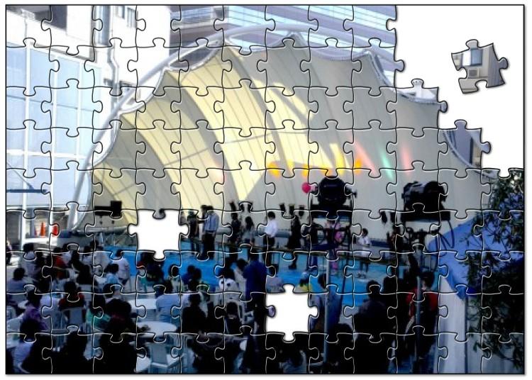 文化祭・学園祭の思い出をパズルに