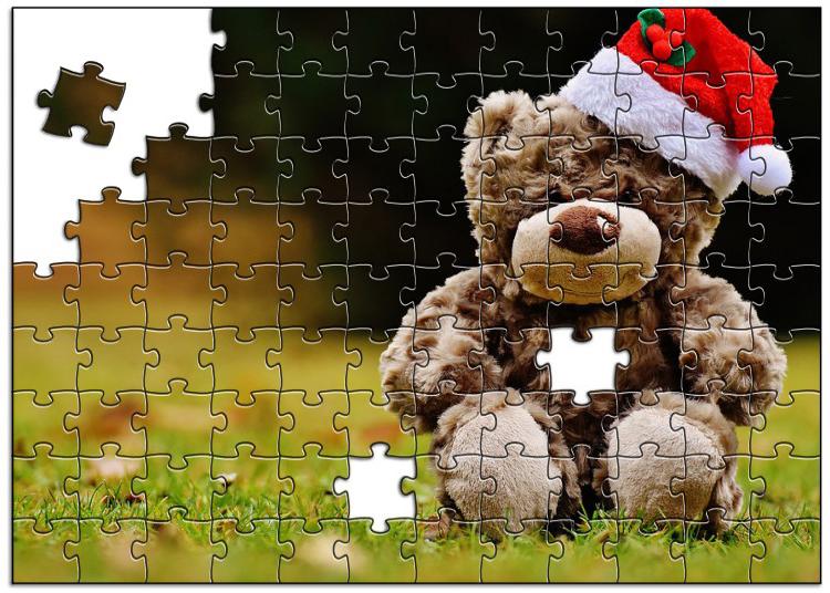 クリスマスの想い出を記念品(ジグソーパズル)に!