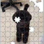 ペットの思い出写真が、インテリアとしてのパズルに!