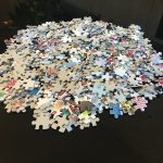500ピースのジグソーパズルを何時間で組み立てられるか挑戦してみました