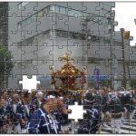 日本の伝統行事を特大ジグソーパズルに