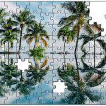 ハワイの素敵なお写真をジグソーパズルに