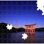 旅行先で撮った写真を使って、記念パズルを製作