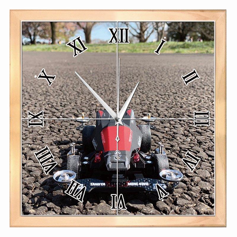 自作ミニ四駆のオリジナル時計