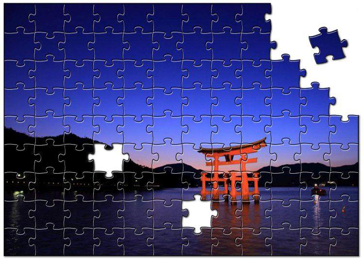 旅行先の写真を使った、世界にひとつだけのオリジナルジグソーパズル