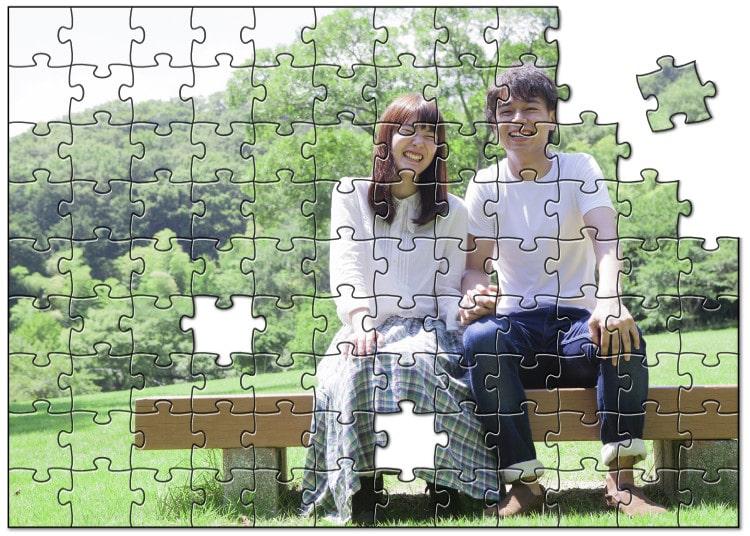 贈り物には写真を使ったオリジナルジグソーパズルを