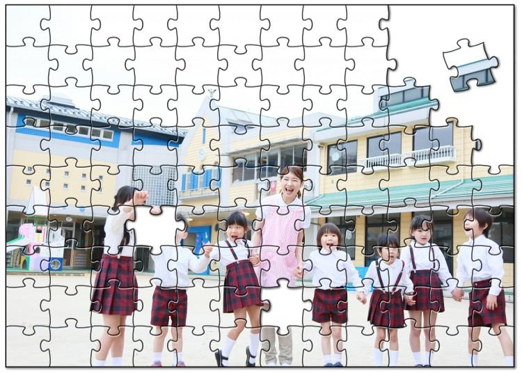 卒園記念ならオリジナルパズル