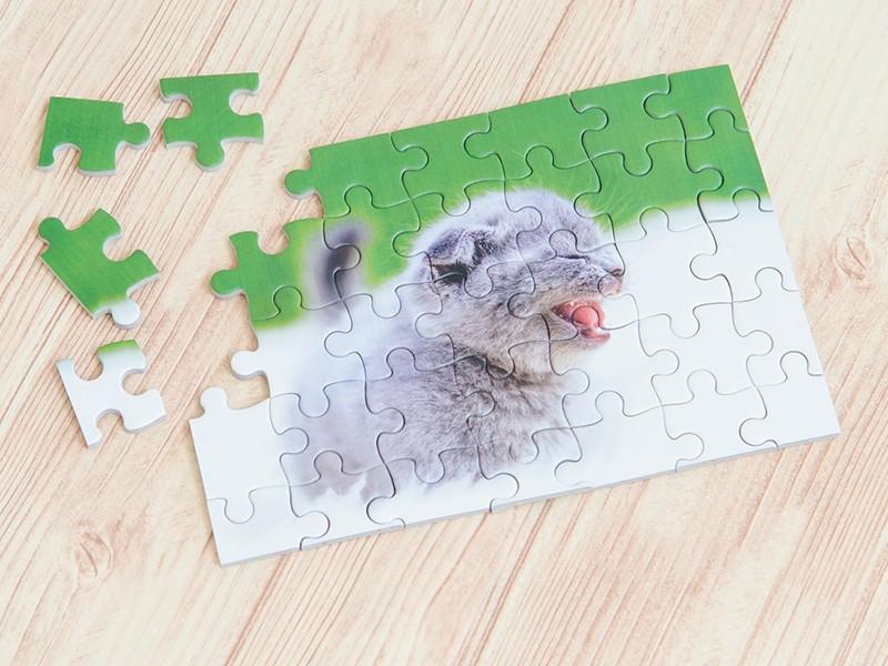 ペットの写真でオリジナルジグソーパズル