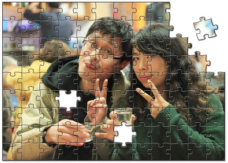 平成最後の同窓会で、オリジナルジグソーパズルを