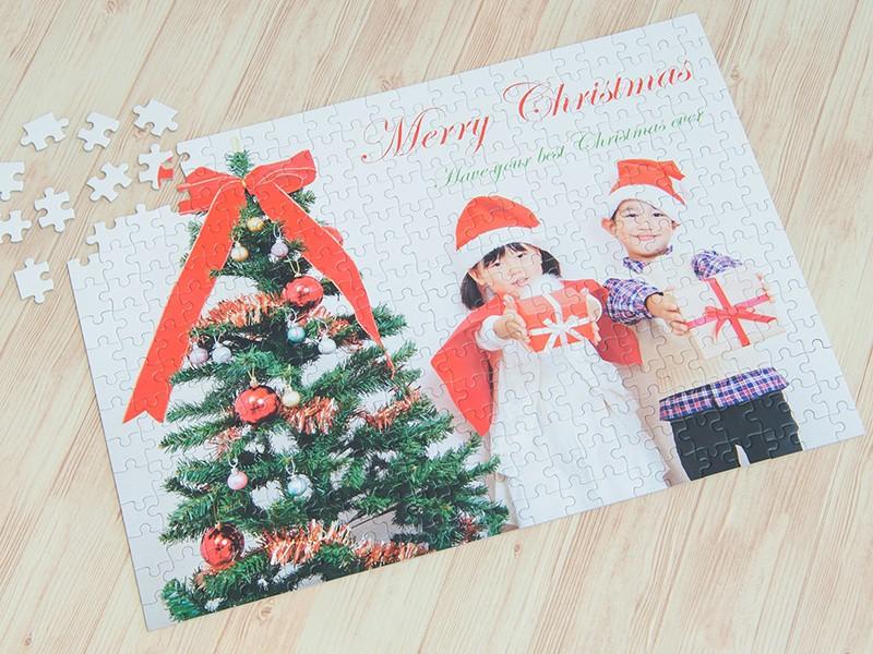 クリスマス2019のプレゼントは、写真パズルで!